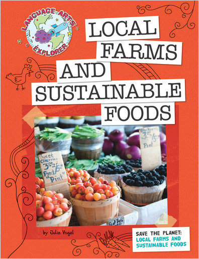Cover: Save the Planet: Local Farms and Sustainable Foods