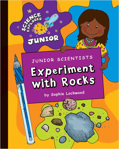 Cover: Junior Scientists: Experiment with Rocks