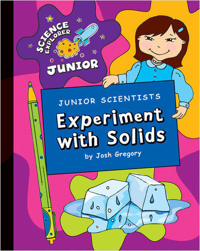 Cover: Junior Scientists: Experiment with Solids