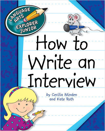 Cover: How to Write an Interview