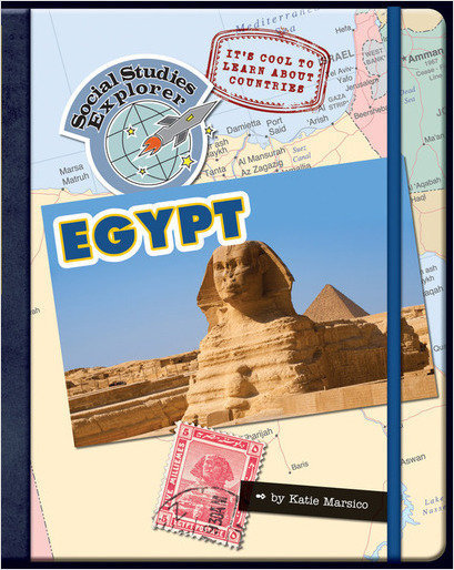 Cover: It's Cool to Learn About Countries: Egypt