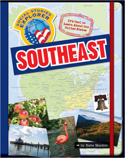 Cover: It's Cool to Learn About the United States: Southeast
