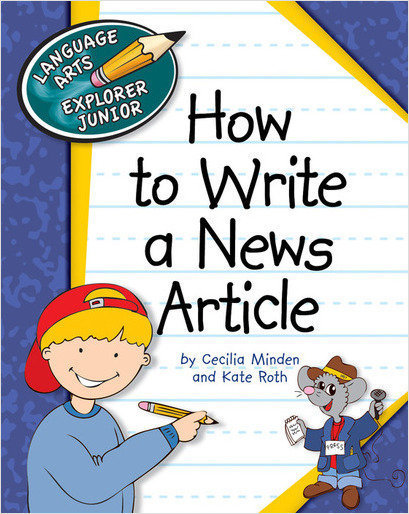 Cover: How to Write a News Article