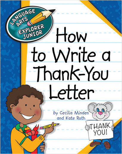 Cover: How to Write a Thank-You Letter