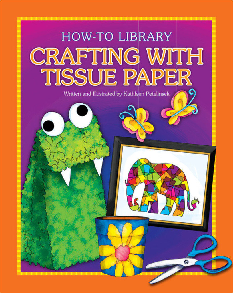 Cover: Crafting with Tissue Paper
