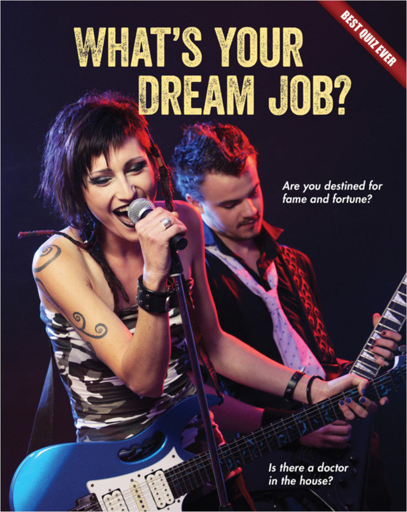 Cover: What's Your Dream Job?