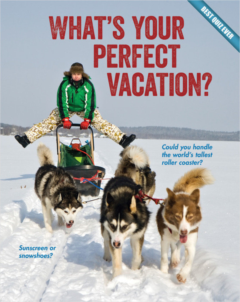 Cover: What's Your Perfect Vacation?
