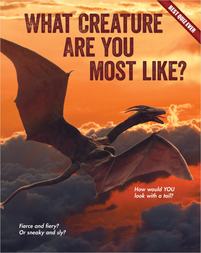 Cover: What Creature Are You Most Like?