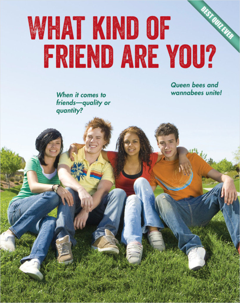 Cover: What Kind of Friend Are You?
