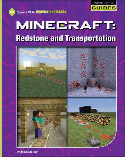 Cover: Minecraft: Redstone and Transportation