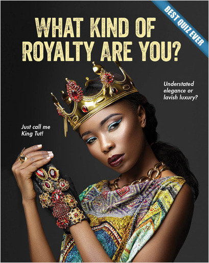 Cover: What Kind of Royalty Are You?