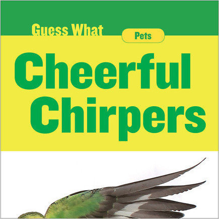 Cover: Cheerful Chirpers: Parakeet