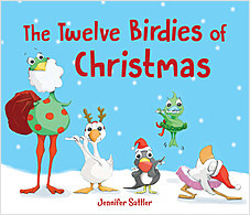 Cover: The Twelve Birdies of Christmas