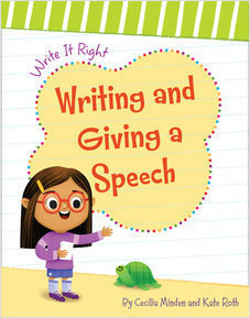 Cover: Writing and Giving a Speech