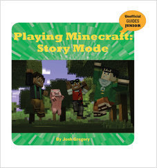 Cover: Playing Minecraft: Story Mode