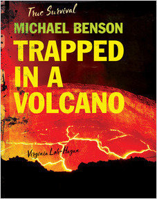 Cover: Michael Benson: Trapped in a Volcano