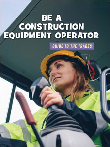 Cover: Be a Construction Equipment Operator
