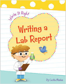 Cover: Writing a Lab Report