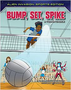 Cover: Bump, Set, Spike: A Tough Choice