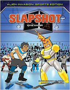 Cover: Slapshot: Icing Anger