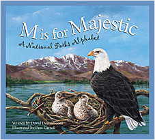 Cover: M is for Majestic: A National Parks Alphabet