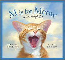 Cover: M is for Meow: A Cat Alphabet