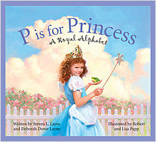 Cover: P is for Princess: A Royal Alphabet