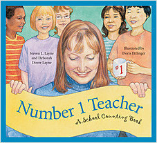 Cover: Number 1 Teacher: A School Counting Book
