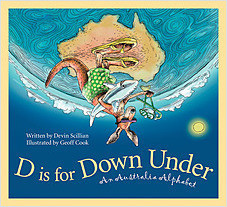 Cover: D is for Down Under: An Australia Alphabet