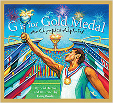 Cover: G is for Gold Medal: An Olympics Alphabet