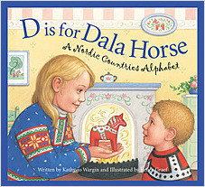 Cover: D is for Dala Horse: A Nordic Countries Alphabet