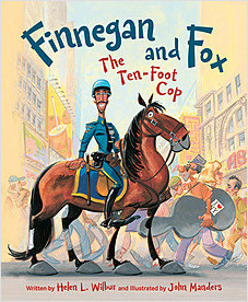 Cover: Finnegan and Fox: The Ten-Foot Cop