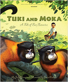Cover: Tuki and Moka: A Tale of Two Tamarins