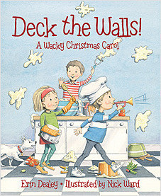 Cover: Deck the Walls: A Wacky Christmas Carol