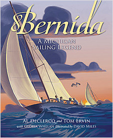 Cover: Bernida: A Michigan Sailing Legend