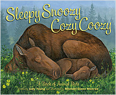 Cover: Sleepy Snoozy Cozy Coozy: A Book of Animal Beds