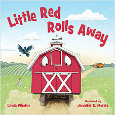 Cover: Little Red Rolls Away