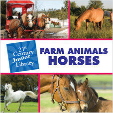 Cover: Farm Animals: Horses