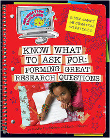 Cover: Know What to Ask: Forming Great Research Questions