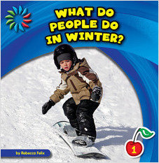 Cover: What Do People Do in Winter?