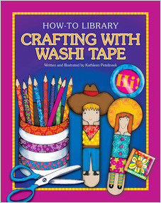 Cover: Crafting with Washi Tape
