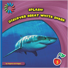 Cover: Discover Great White Sharks