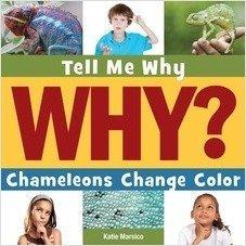 Cover: Chameleons Change Color