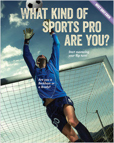 Cover: What Kind of Sports Pro Are You?