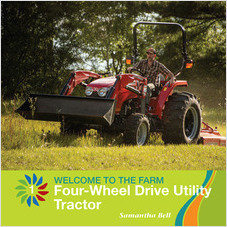 Cover: Four-Wheel Drive Utility Tractor