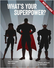 Cover: What's Your Superpower?