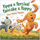 Cover: Pippa and Percival, Pancake and Poppy: Four Peppy Puppies