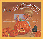 Cover: J is for Jack-O'-Lantern: A Halloween Alphabet