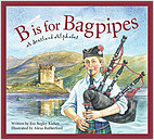 Cover: B is for Bagpipes: A Scotland Alphabet