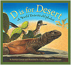 Cover: D is for Desert: A World Deserts Alphabet